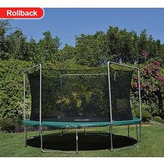 BouncePro by Sportspower 15' Trampoline and Enclosure with Game (Was $329)