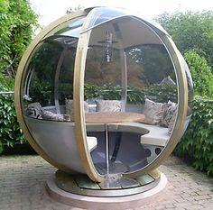 Cozy Garden House in Sphere Design