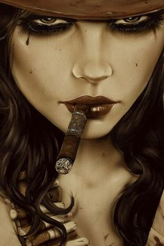 cafeinevitable:  Dangerous Beauty by Brian M Viveros