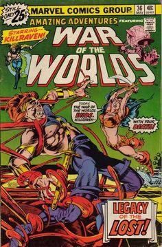 Amazing Adventures # 36 Marvel Comics  Art by P. Craig Russell.