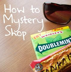 How to Mystery Shop - just thought this was interesting