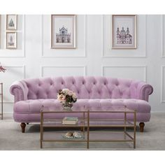Shop for Jennifer Taylor La Rosa Chesterfield Sofa. Get free shipping at Overstock.com - Your Online Furniture Outlet Store! Get 5% in rewards with Club O!