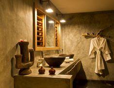 Tsara Komba Lodge Madagascar Ensuite Bathroom