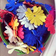 leather flowers for our leatherworks workshop with Clare Vivier. #craftingcommunity #DIY