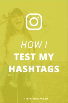 This is how I test my Instagram hashtags to know which ones actually grow my Instagram account. I can see what hashtags gives me the most likes, comments and engagement. This is an Instagram hashtag analytics app!