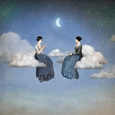 Chilean Visionary painter Christian Schloe work includes digital art, painting, illustration and photography. Magritte, Fantasy Kunst, Fantasy Art, Digital Painter, Digital Art, Tee Kunst, Illustrator, Max Ernst, Tea Art