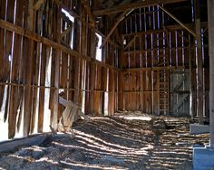 old barn interior. This picture well shows the feeling and mood I want to portray with my walls. Also, the right angle in the corner gave me insight that I should have walls that are angled instead of straight or curved.