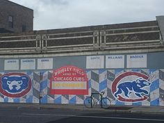 Cubs mural across from the Jefferson Park CTA Terminal (Chicago Pin of the Day, Jefferson Park, Foxes Photography, My Kind Of Town, Pretty Photos, Cubbies, Chicago Cubs, North West, Past, Sweet Home