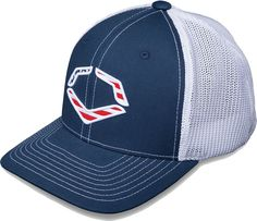 fac1e1ca08a EvoShield Adult USA FlexFit Hat