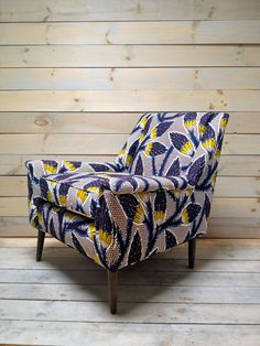 Community Post: 29 Ridiculously Amazing Pieces Of Floral Furniture Floral Furniture, Funky Furniture, Home Furniture, Floral Chair, Furniture Design, African Interior, African Home Decor, Take A Seat, Upholstered Chairs