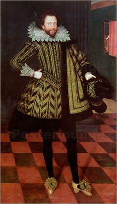 Marcus Gheeraerts - Sir John Kennedy of Barn Elms