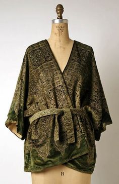 Mariano Fortuny, Evening Jacket, 1920s, The Metropolitan Museum of Art, New York
