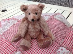 By M. Smeets, silk with mohair, miniature bear