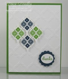 Stamping with Tracy: Mosaic Madness