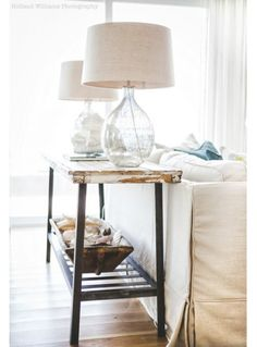 Ashley Gilbreath Interior Design | Parish | Montgomery Alabama | Holland Williams Photography | Cottage Sofa Table