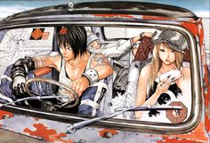Takeshi Obata #manga #illustration