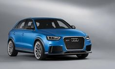 Here's a hot little hatch that will get your motor running. Audi Q3