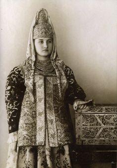 Costume de la province de Tver