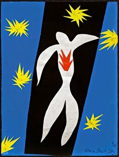 """Tate Modern: Os recortes  Henri Matisse é um gigante da arte moderna. Esta exposição-marco explora o capítulo final de sua carreira em que ele começou a """"escultura em cor"""" e o nascimento de sua série de espetaculares recortes.   http://gabineted.blogspot.com.br/2014/05/henri-matisse-os-recortes.html"""