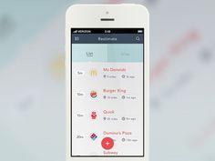 list view app design - Google 検索