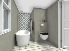 New Room Interior drawings of our bathroom! Wish U a Happy winter Weekend!! -Mia- Interiørkonsulent, New Room Interior