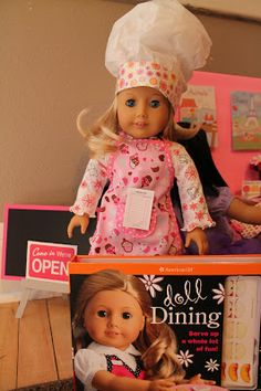American Girl Doll Play: Creating an American Girl Doll Diner!