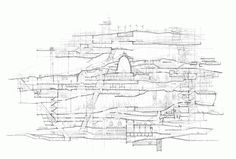 Stuart Franks' City in a Building (and other drawings)