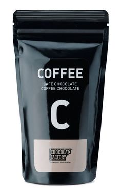 coffee packaging black colored stand up pouch with zipper.