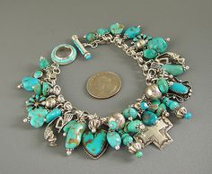 I really love Beauty Bling Jewelry! Jewelry takes people's minds off your wrinkles. Coral Jewelry, Bling Jewelry, Boho Jewelry, Turquoise Bracelet, Beaded Jewelry, Silver Jewelry, Vintage Jewelry, Handmade Jewelry, Jewelry Design