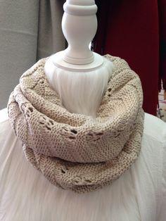 Women's Knit Scarf Womens Infinity Scarf by ColoradoChickCo