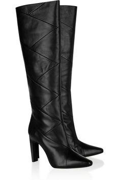 KORS Michael Kors Cooper leather knee boots