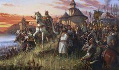 Stephen III of Moldavia, 2018, oil on canvas, 169x98 Military History, Middle Ages, Romania, Renaissance, Oil On Canvas, Medieval, Army, Painting, Gi Joe