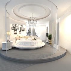 luxury home, luxury bedroom, grey design, modern design - Dream Homes
