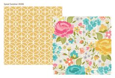 Simple Stories - Vintage Bliss Collection - 12 x 12 Double Sided Paper - Spread Sunshine
