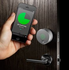Use the phone to open your door!