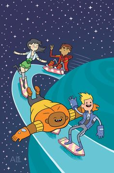 'Bravest Warriors' Hits #12 In September With Covers By Hesse, Estep, Longstreth And Czajkowski [Art] - ComicsAlliance | Comic book culture, news, humor, commentary, and reviews