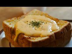 갈릭 치즈 브레드 : Garlic cheese bread : 꿀키 - YouTube