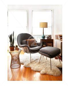 Replica Eero Saarinen Womb Chair   Footstool   Grey   ZUCA   Homeware   Chairs Replica Wassily Chair   Ivory White   ZUCA   Homeware  Chairs  . Dsw Replica Chairs Nz. Home Design Ideas