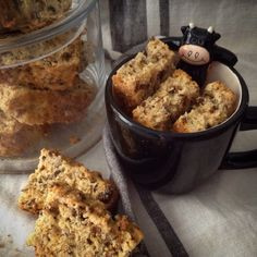 Muesli rusks made with buttermilk and free-range eggs