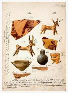 Museum finds original drawings by Schliemann