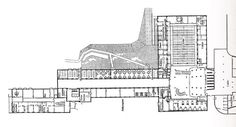Arne Jacobsen - Sala de Aarhus - Techne