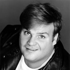 Chris Farley - (02/15/1964 - 12/18/1997) He died very young of an overdose - mixture of different drugs at age 33. Known for Saturday Night Live