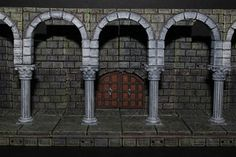 OpenForge 2.0 Cut-Stone Colonnade Released!   Masterwork Tools on Patreon