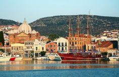 Σε ποιο σημείο της Ελλάδας τραβήχτηκε αυτή η φωτογραφία; Από εκεί κατάγεται η «δέκατη μούσα», ο Ελύτης, ο Μυριβήλης και ο Βενέζης