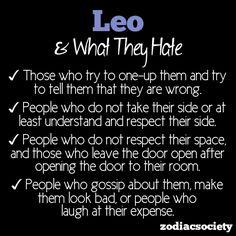 zodiacsociety:    What Leo Hates
