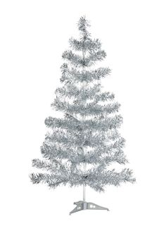 Tinsel Christmas Tree 85cm - Matalan