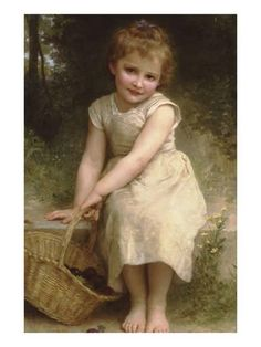 Plums Art Print by William Adolphe Bouguereau at Art.com