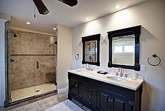Home ideas on pinterest shower remodel showers and for Master bathrooms without bathtubs