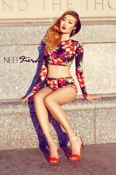 neef fresh. i would wear this for a dance audition. and get the part. obvs.