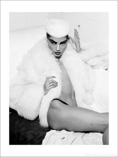 Michelle Wilson photographed by Michael Burk. Styling by BCALLA, makeup by Katalina Mitchell. www.michael-burk.com